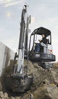 Compact Excavators combine performance with light weight.