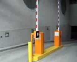 Unmanned, Heavy-Duty Parking Barrier Gate is RFID-enabled.