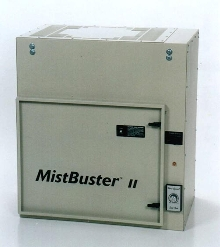 Mist and Smoke Eliminator is rated at 1250 CFM.