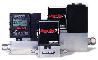 Digital Mass Flow Meter/Controller offers MODBUS capability.