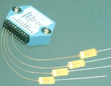 Data Modules measure temperature, voltage and current.