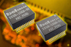 Magnetics Modules target 10 GBASE-T PHY transceivers.