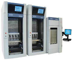 Automated System seals, stores, tracks microplate compounds.