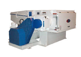 Rotary Waste Shredder offers volume capacity of 4 cu-yd.