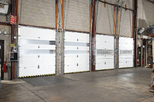 Modular Sectional Door features user-configurable design.