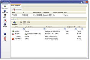 Machine Monitoring Software enables Internet-based remote access.
