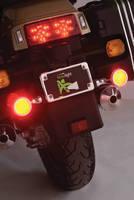 Motorcycle Tail/Brake Light Set maximizes rider visibility.