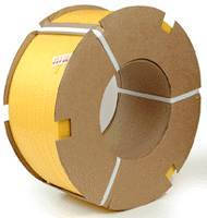 Plastic Strapping meets packaging industry requirements.