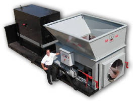 Portable Shredder/Compactor reduces waste disposal trips.
