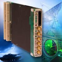 Radio Transceiver captures and processes wideband signals.