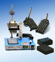 Nitrogen Evaporator handles 96-well microtiter plates.