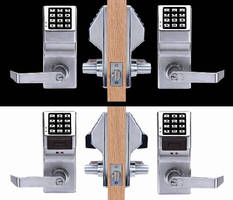 Pushbutton Cylindrical Locks feature double-sided design.