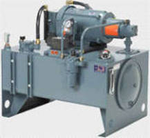 Hydraulic Power Units come in horizontal and vertical models.