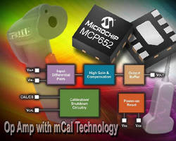 Operational Amplifiers include on-chip calibration circuit.