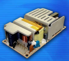 Open Frame Power Supplies are designed for 1U applications.