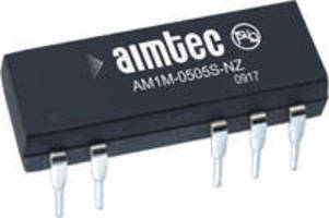 DC-DC Converters feature power density of 23 W/in³.