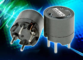 Shielded Inductors provide power line filtering.
