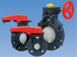 Butterfly Valve Discs withstand aggressive chemicals.