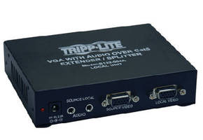 Extenders/Splitters extend A/V signals up to 1,000 ft.