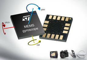 MEMS Gyroscopes available in single- and multi-axis versions.
