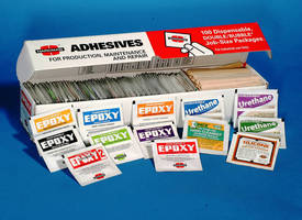 Economy Size, Job-Size Adhesives for Installation, Maintenance, and Repair