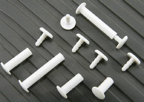 Combination Fasteners suit one-time assembly applications.