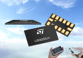 MEMS Accelerometer features 0.75 mm thickness.