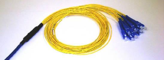 Fiber Optic Cables feature bend insensitive design.