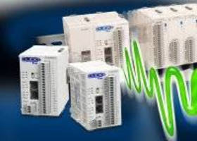 Programmable Logic Controllers include 3 analog CPU modules.