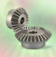 Stainless Steel Bevel Gears from QTC are Stocked in 24 Sizes in Modules 1.5~3
