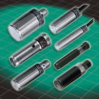 Inductive Proximity Sensors offer range of up to 15 mm.