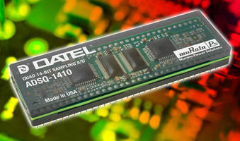 A/D Converter targets image processing applications.