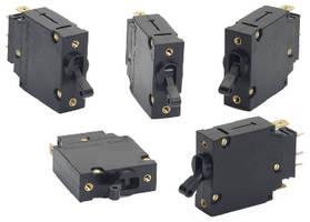 Hydraulic/Magnetic Circuit Breaker has trip-free mechanism.