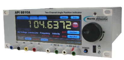 Angle Measurement Instrument offers auto ranging inputs.