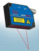 Laser Displacement Sensors offer teach-in feature.