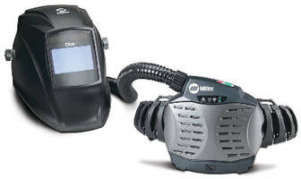 Respirator promotes comfort, safety in welding environments.