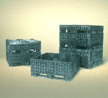 Storage Containers hold up to 1 ton of material.