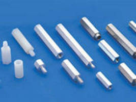 Hole Spacers are offered in clear round versions.