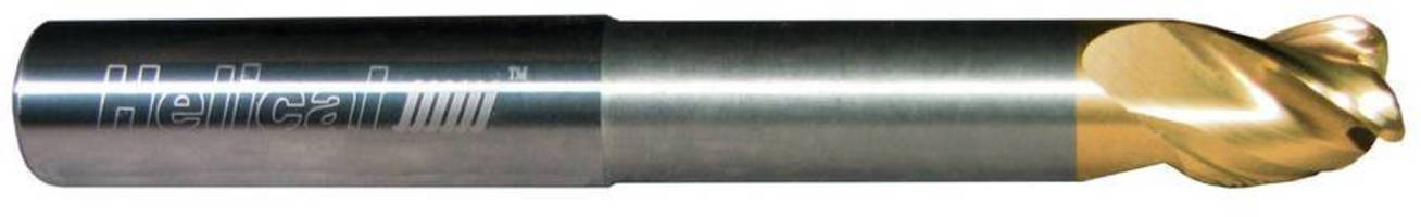 Nonserrated End Mill is suited for aluminum applications.