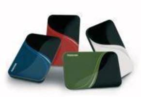 Portable Hard Drives offer complete system backup.