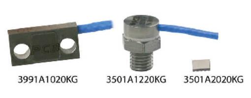 MEMS Shock Accelerometers measure high g-shock events.