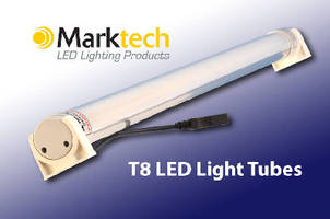 LED Light Tubes deliver uniform light.