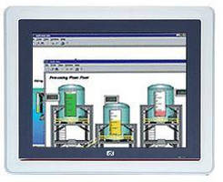 Fanless HMI is 51.5 mm thick and comes with SCADA software.
