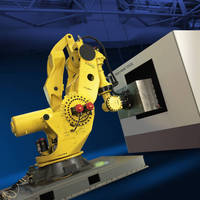 Heavy-Duty Robot can lift parts weighing up to 1,350 kg.