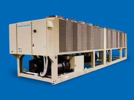 Air-Cooled Chiller features 3 efficiency levels.