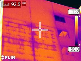 O & S Associates, Inc. - Consulting Engineers Offers Infrared Thermography Services for Condition Assessments, Leak Investigations, Roofing, Electrical Distribution, Exterior Walls, and Energy Studies