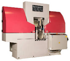 Automatic Bandsaws are designed for speedy, safe operation.