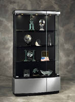 Display Cases diminish glare and draw attention.