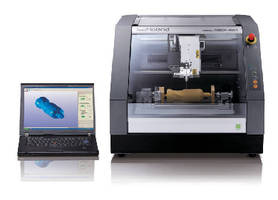 3D Desktop Milling Machine creates models from CAD data.
