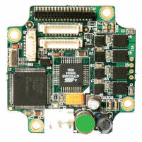 Stepper Motor Controller has resolution of 1,600 step/rev.